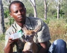 Amos Kibara (former research technician, Ijara)